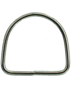 Closed D-Ring 5x50mm Stainless Steel