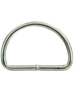 Closed D-Ring 6x50mm Stainless Steel