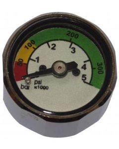 Stage Gauge, pony pressure gauge for the first stage