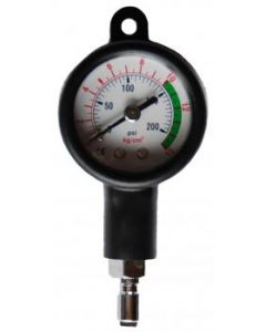 MD pressure gauge for the Inflato hoes to check the medium pressure.