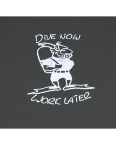 Diver T Shirt in sizes S -XXXXL made of 100% cotton TS11
