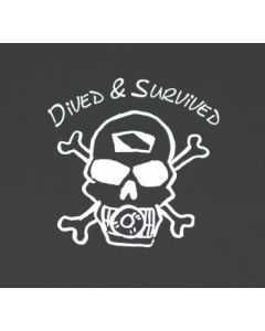 Diver T Shirt in sizes S -XXXXL made of 100% cotton TS13